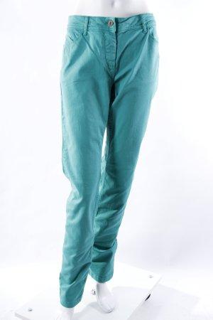 Comma Slim Jeans grün