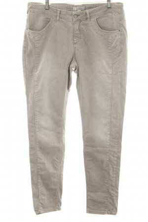 Comma Slim Jeans light grey casual look