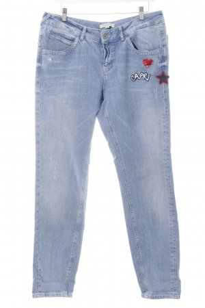 Comma Slim Jeans himmelblau Casual-Look