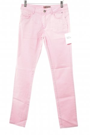 Comma Slim Jeans pink simple style