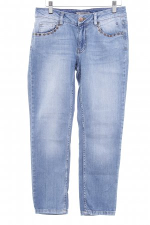 Comma Slim Jeans stahlblau Casual-Look