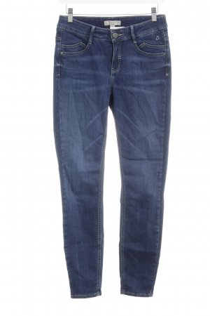 Comma Slim Jeans stahlblau Casual-Look