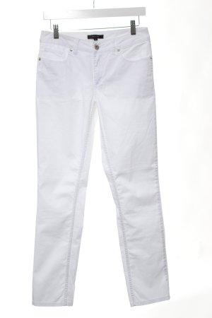 Comma Slim Jeans weiß Elegant