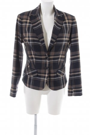 Comma Tuxedo Blazer check pattern business style