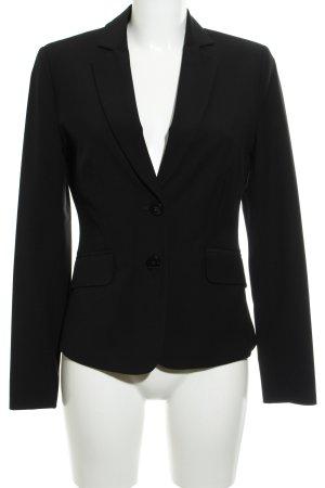 Comma Blazer de esmoquin negro elegante