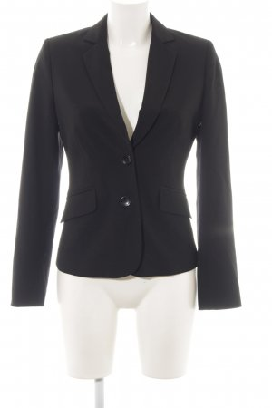 Comma Smoking-Blazer schwarz Elegant