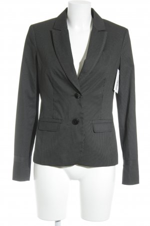 Comma Smoking-Blazer schwarz-weiß Nadelstreifen Business-Look