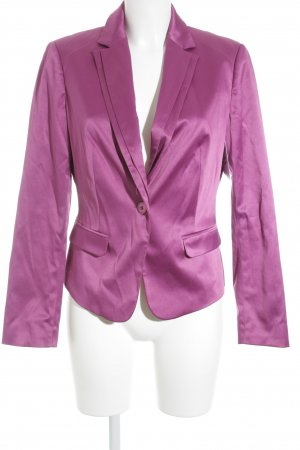 Comma Smoking-Blazer violett Business-Look