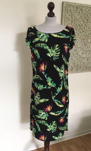 Comma Midi Dress multicolored