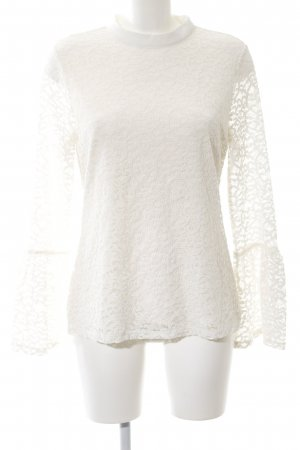Comma Lace Blouse natural white business style