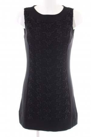 Comma Lace Dress black flower pattern elegant