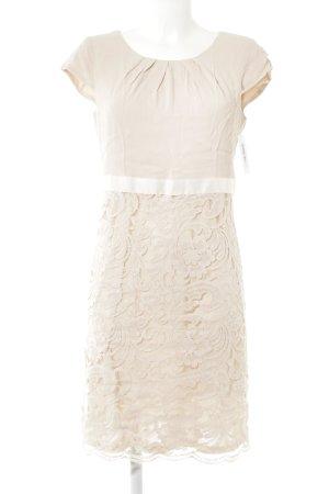 Comma Lace Dress pink-natural white elegant
