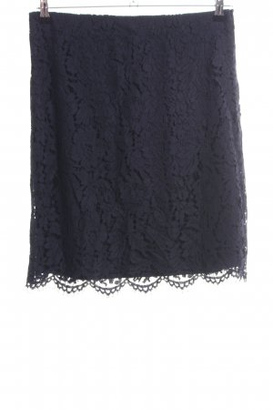 Comma Kanten rok zwart elegant