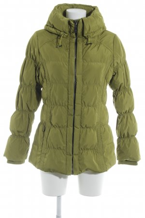 Comma Quilted Jacket meadow green casual look