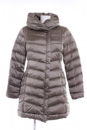 Comma Quilted Coat rose-gold-coloured