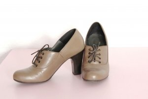 Comma Stiefeletten / Schnürpumps, Heels, Echt-Leder