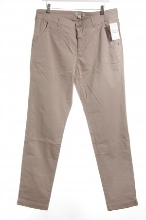 Comma Stoffhose beige Casual-Look