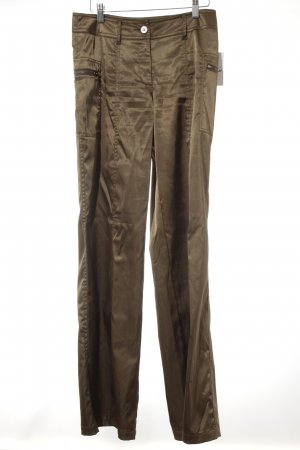 Comma Stoffhose bronzefarben Casual-Look