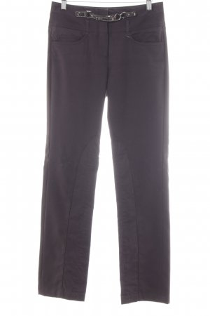 Comma Stoffhose dunkelbraun Casual-Look