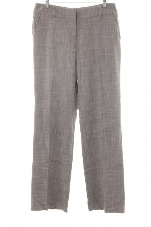 Comma Stoffhose dunkelbraun-hellbraun meliert Business-Look