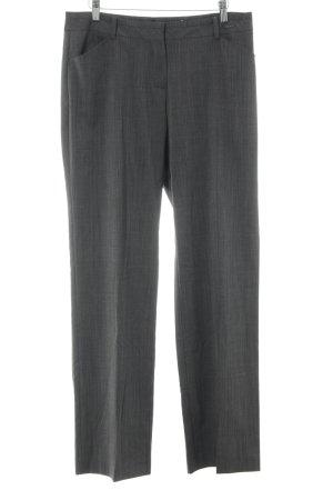 Comma Jersey Pants dark grey business style