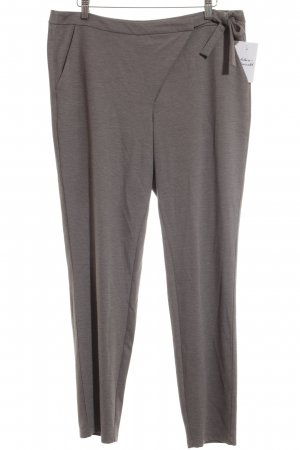 Comma Stoffhose grau Casual-Look