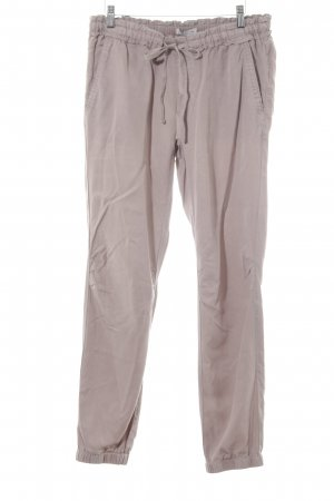Comma Jersey Pants grey brown business style