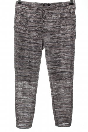Comma Stretchhose Streifenmuster Casual-Look