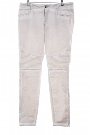 Comma Stretch Trousers cream-beige street-fashion look