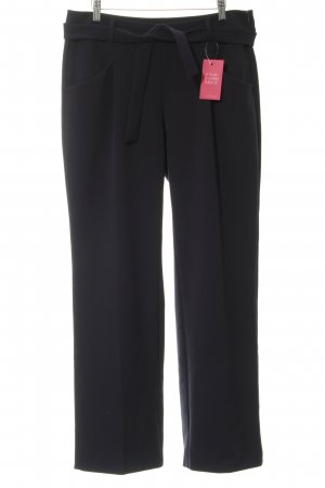 Comma Stretch Trousers dark blue business style
