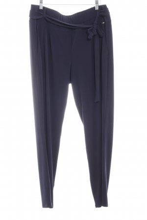 Comma Stretch broek donkerblauw casual uitstraling