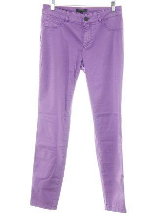 Comma Stretchhose lila-flieder Casual-Look