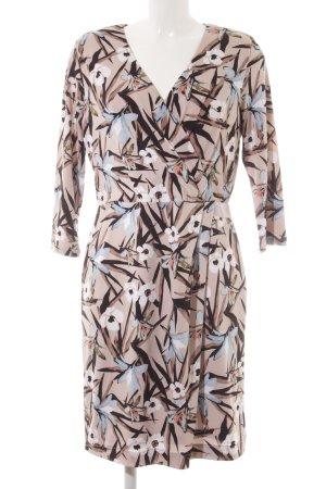 Comma Stretch Dress flower pattern casual look