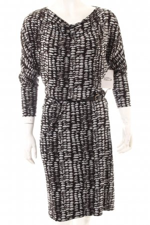 Comma Stretchkleid Leomuster Casual-Look