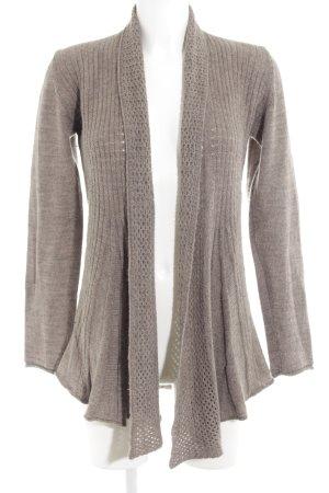 Comma Cardigan tricotés gris brun style décontracté