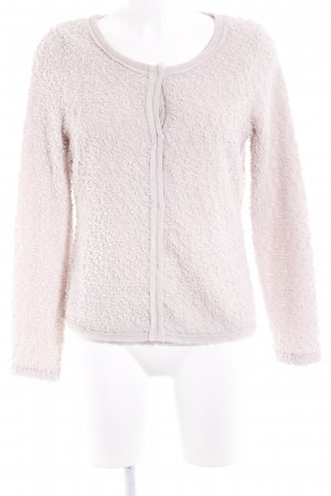 Comma Strick Cardigan hellbeige Casual-Look
