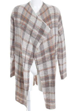 Comma Strick Cardigan Karomuster Casual-Look