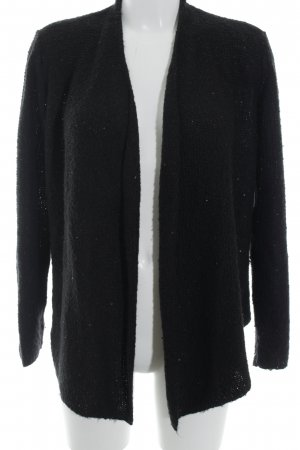 Comma Strick Cardigan schwarz Casual-Look