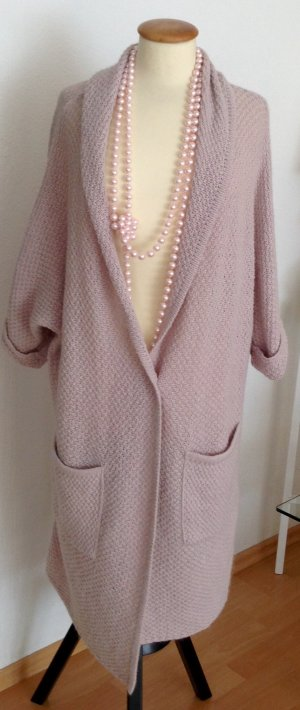 Comma Wool Jacket dusky pink mixture fibre