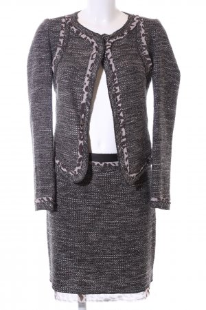 Comma Knitted Twin Set light grey flecked business style