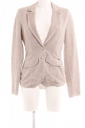 Comma Strickblazer beige Casual-Look