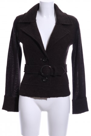Comma Knitted Blazer brown business style