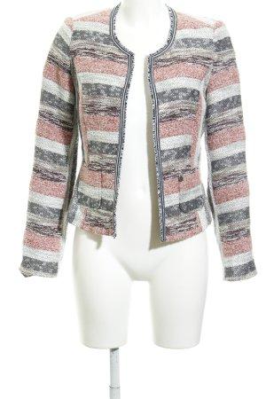 Comma Blazer in maglia motivo a righe stile professionale
