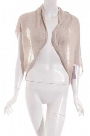 Comma Strickbolero creme Casual-Look