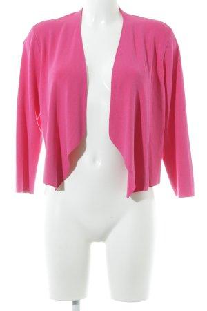 Comma Bolero lavorato a maglia rosa stile casual