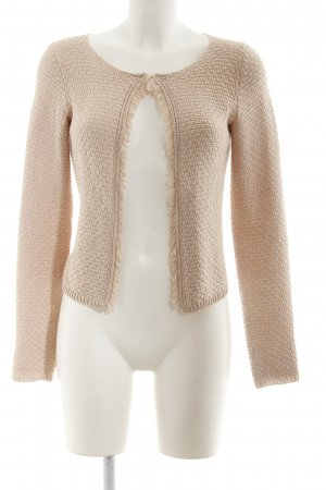 Comma Knitted Bolero pink casual look