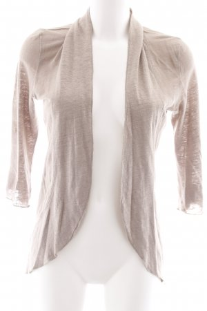 Comma Strickjacke beige Casual-Look