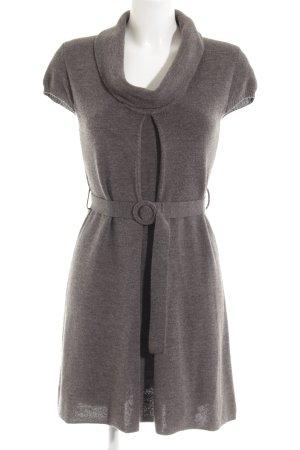 Comma Abito di maglia grigio scuro-grigio modello web stile casual