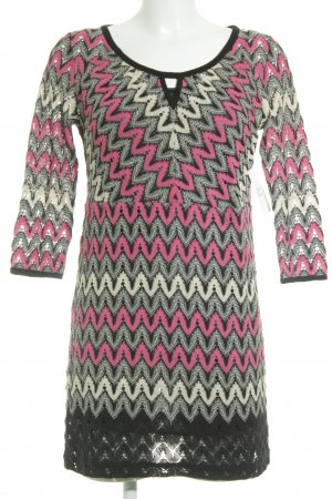 Comma Knitted Dress multicolored classic style
