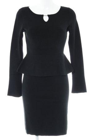 Comma Abito di maglia nero stile casual